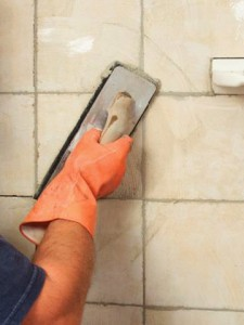 Grouting Bathroom Tiles & Sealing Bathroom Furniture