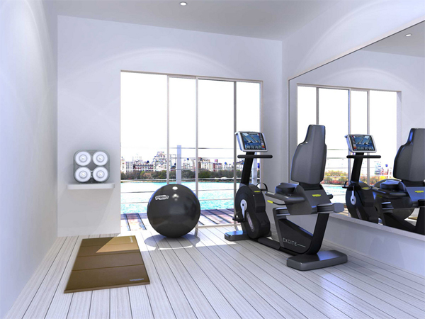 Transform box rooms diy tips for Small exercise room