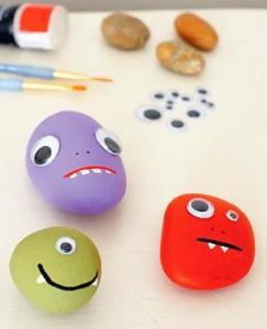 Pebble monsters