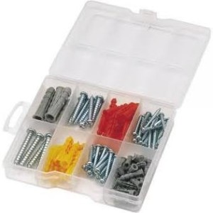 Screw & Rawl Plug Set