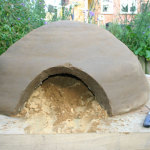 pizza oven Cut a Doorway