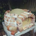 pizza oven Brick Walls