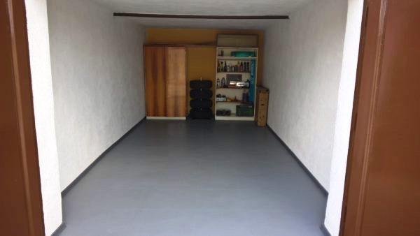 Garage After Rubber Tiles