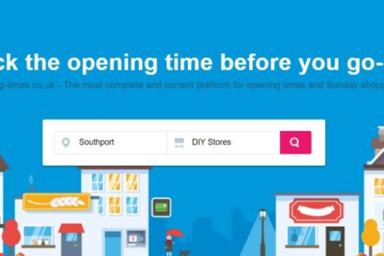 DIY Shops and Opening Times