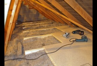 Create Energy Efficient Loft Storage