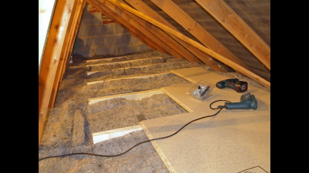 Create Energy Efficient Loft Storage